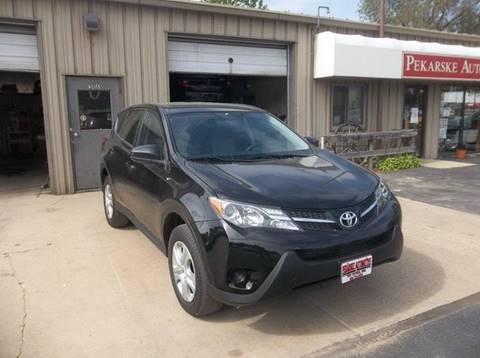 2015 Toyota RAV4 for sale at PEKARSKE AUTOMOTIVE INC in Two Rivers WI