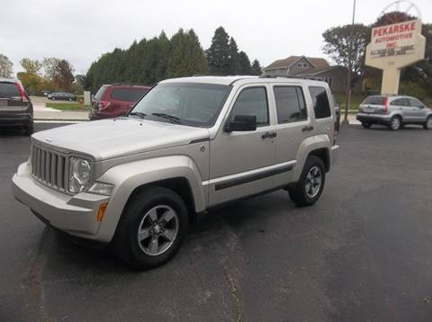 2008 Jeep Liberty for sale at PEKARSKE AUTOMOTIVE INC in Two Rivers WI