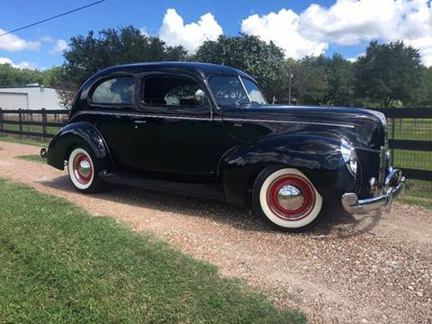 1940 Ford Deluxe for sale in Richmond, TX