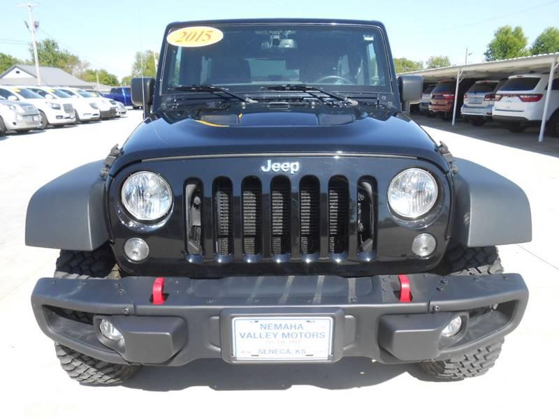2015 Jeep Wrangler Unlimited for sale at Nemaha Valley Motors in Seneca KS