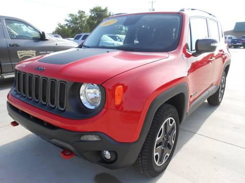 2016 Jeep Renegade for sale at Nemaha Valley Motors in Seneca KS