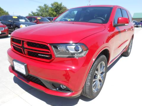 2017 Dodge Durango for sale at Nemaha Valley Motors in Seneca KS