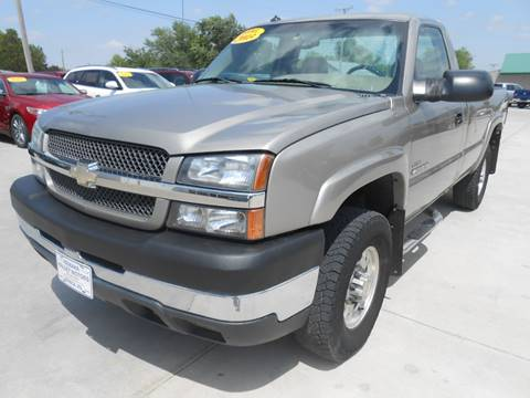 2003 Chevrolet Silverado 2500HD for sale at Nemaha Valley Motors in Seneca KS