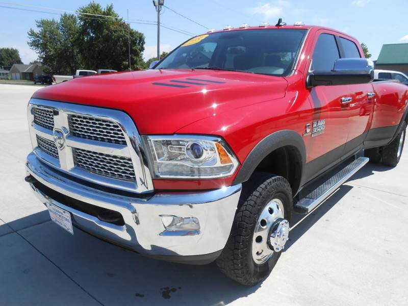 2015 RAM Ram Pickup 3500 for sale at Nemaha Valley Motors in Seneca KS