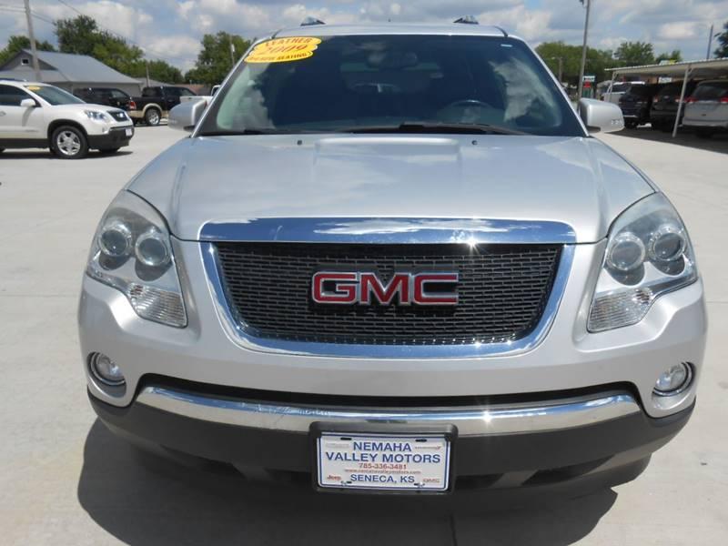 2009 GMC Acadia for sale at Nemaha Valley Motors in Seneca KS