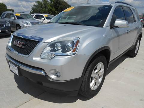 2009 GMC Acadia for sale at Nemaha Valley Motors in Seneca KS