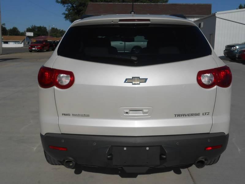 2011 Chevrolet Traverse for sale at Nemaha Valley Motors in Seneca KS