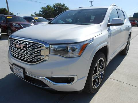2017 GMC Acadia for sale at Nemaha Valley Motors in Seneca KS