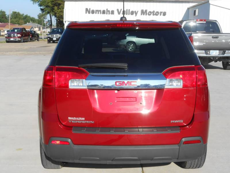 2015 GMC Terrain for sale at Nemaha Valley Motors in Seneca KS
