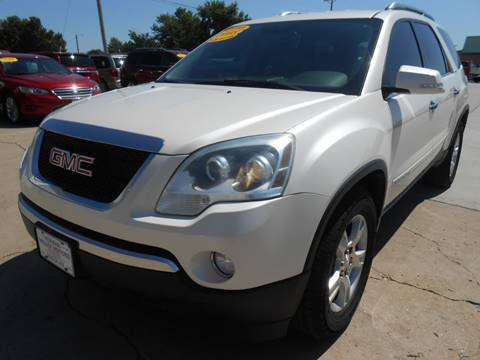 2008 GMC Acadia for sale at Nemaha Valley Motors in Seneca KS