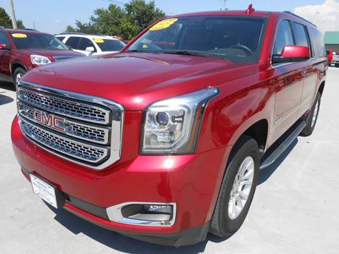 2015 GMC Yukon XL for sale at Nemaha Valley Motors in Seneca KS
