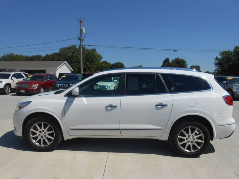 2017 Buick Enclave for sale at Nemaha Valley Motors in Seneca KS