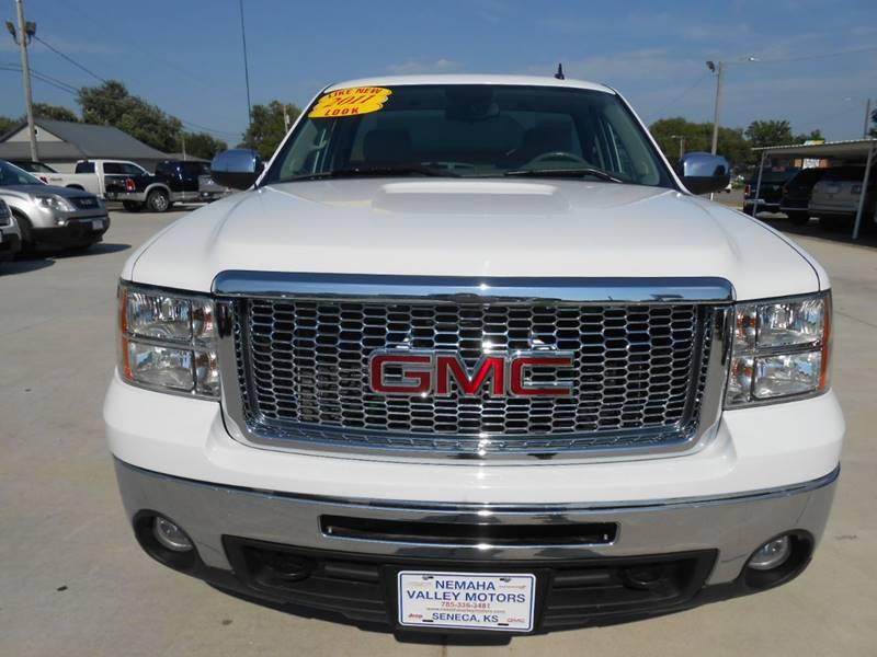 2011 GMC Sierra 1500 for sale at Nemaha Valley Motors in Seneca KS