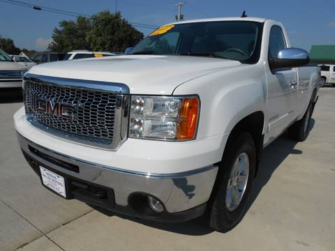 2011 GMC Sierra 1500 for sale at Nemaha Valley Motors in Seneca KS