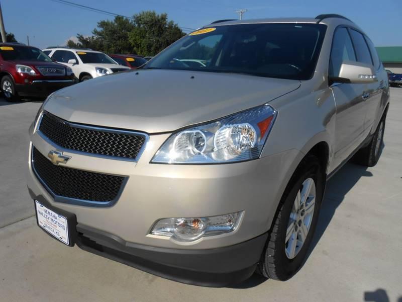 2012 Chevrolet Traverse for sale at Nemaha Valley Motors in Seneca KS