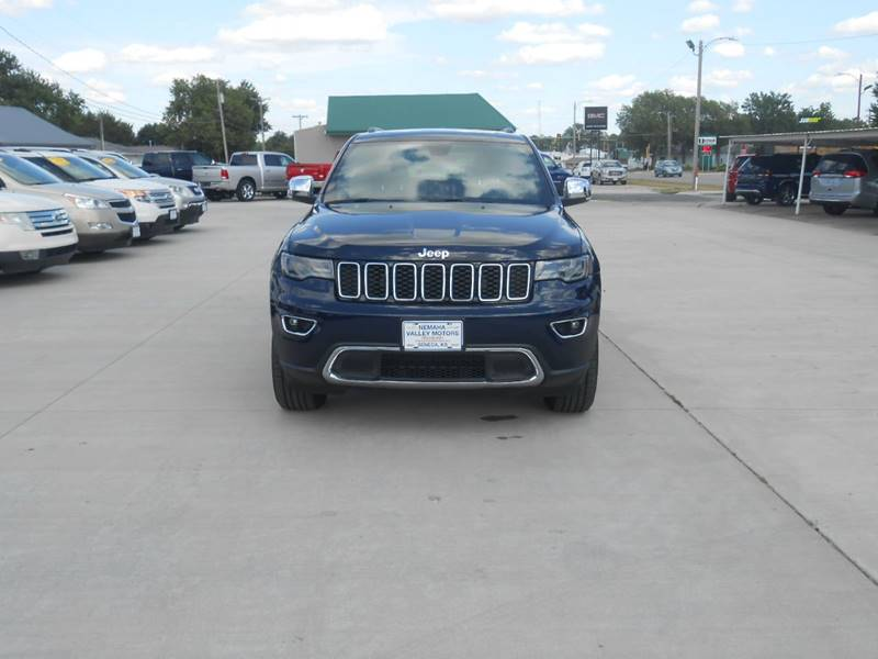 2017 Jeep Grand Cherokee for sale at Nemaha Valley Motors in Seneca KS