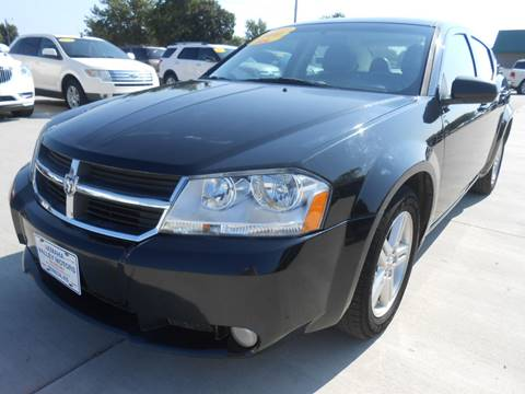 2010 Dodge Avenger for sale at Nemaha Valley Motors in Seneca KS