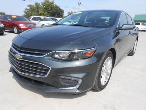 2016 Chevrolet Malibu for sale at Nemaha Valley Motors in Seneca KS