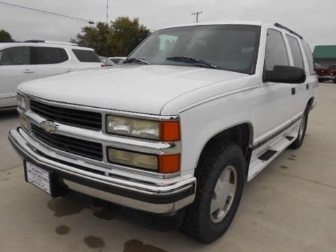 1997 Chevrolet Tahoe for sale in Seneca, KS