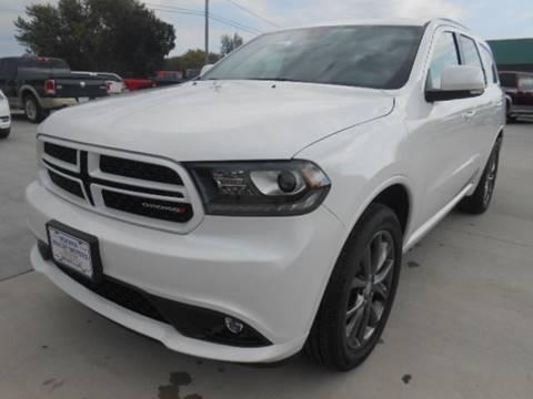 2018 Dodge Durango for sale at Nemaha Valley Motors in Seneca KS