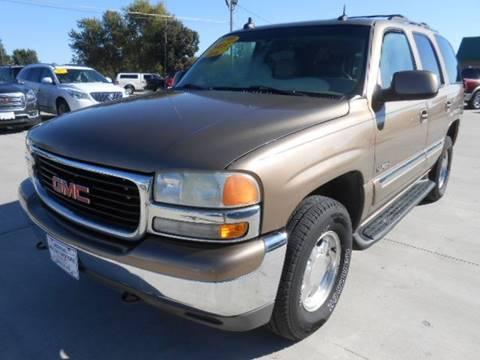 2003 GMC Yukon for sale at Nemaha Valley Motors in Seneca KS