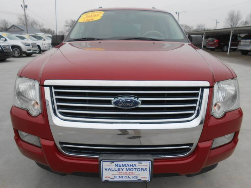 2010 ford explorer xlt in seneca ks - nemaha valley motors