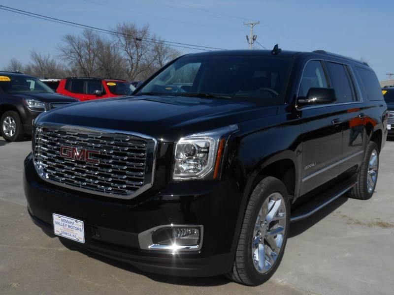 Gmc Yukon Xl Denali >> 2018 Gmc Yukon Xl Denali In Seneca Ks Nemaha Valley Motors