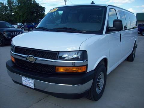2017 Chevrolet Express Passenger for sale at Nemaha Valley Motors in Seneca KS