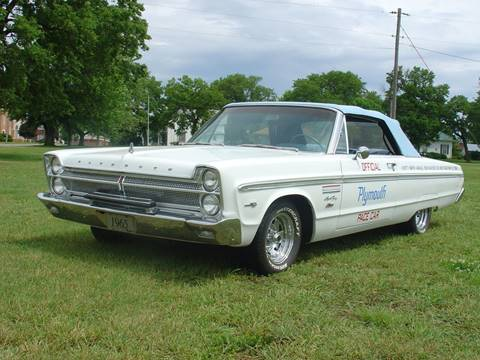 1965 Plymouth Sport Fury for sale at Nemaha Valley Motors in Seneca KS