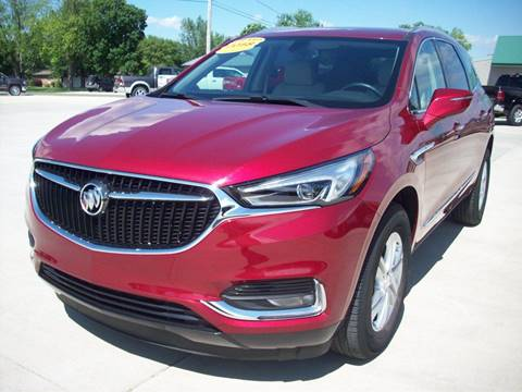 2018 Buick Enclave for sale at Nemaha Valley Motors in Seneca KS