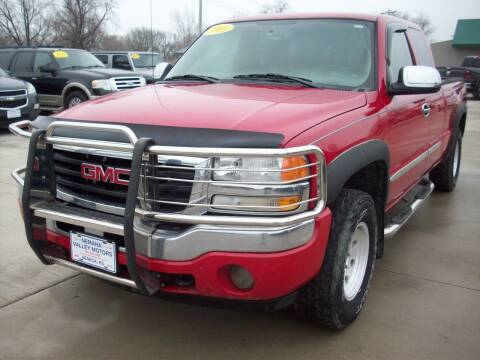 2005 GMC Sierra 1500 for sale at Nemaha Valley Motors in Seneca KS