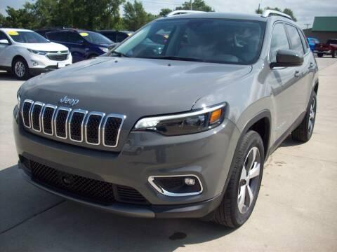 2020 Jeep Cherokee for sale at Nemaha Valley Motors in Seneca KS
