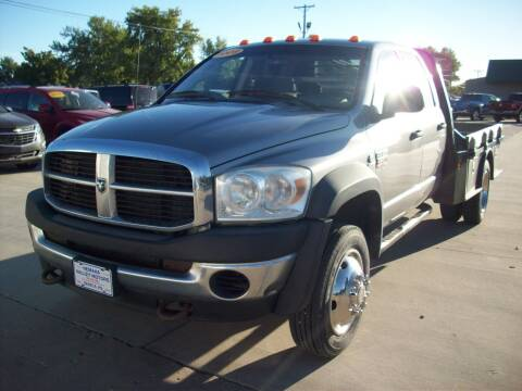 2009 Dodge Ram Chassis 4500 for sale at Nemaha Valley Motors in Seneca KS