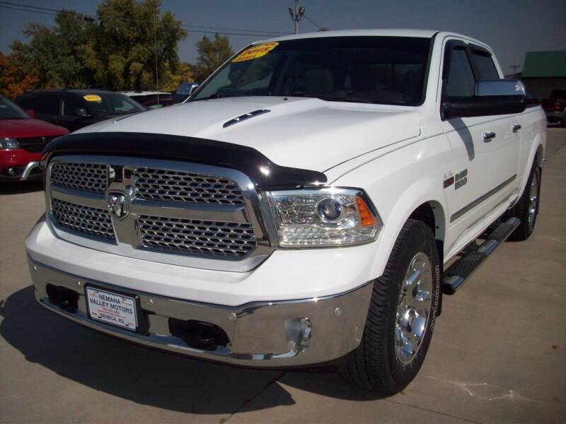 2015 RAM Ram Pickup 1500 for sale at Nemaha Valley Motors in Seneca KS