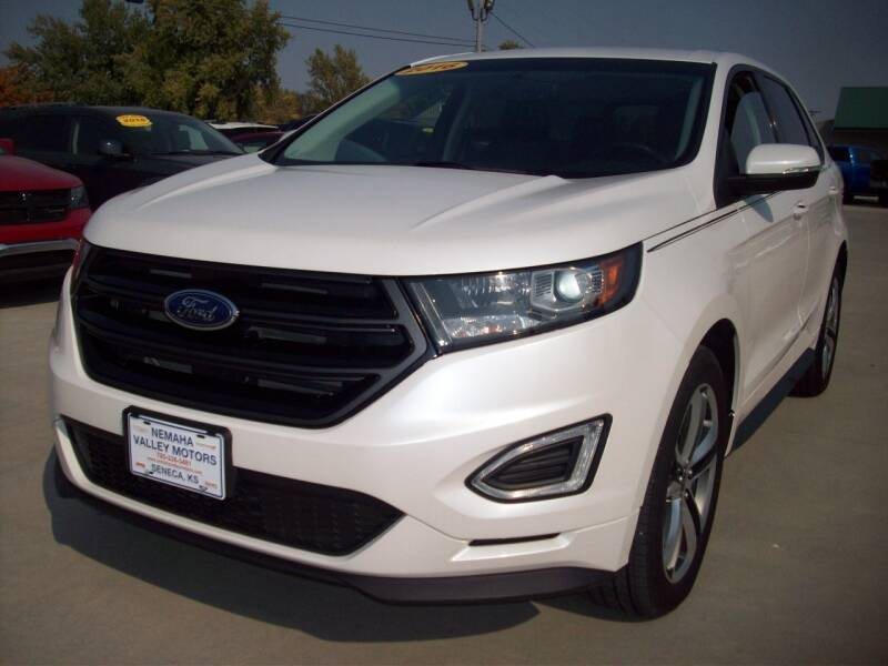 2016 Ford Edge for sale at Nemaha Valley Motors in Seneca KS