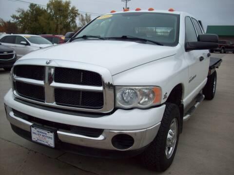 2005 Dodge Ram Pickup 3500 for sale at Nemaha Valley Motors in Seneca KS