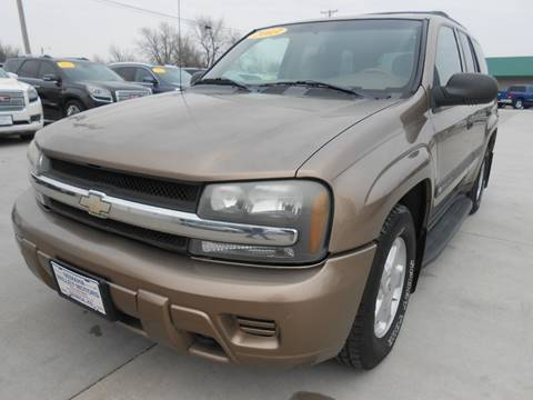 2003 Chevrolet TrailBlazer for sale at Nemaha Valley Motors in Seneca KS