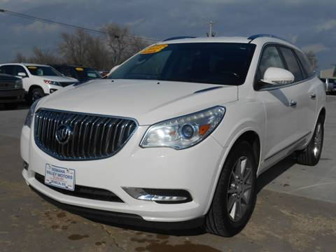 2013 Buick Enclave for sale at Nemaha Valley Motors in Seneca KS