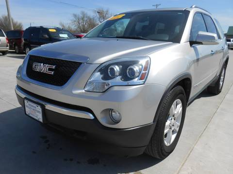 2007 GMC Acadia for sale at Nemaha Valley Motors in Seneca KS