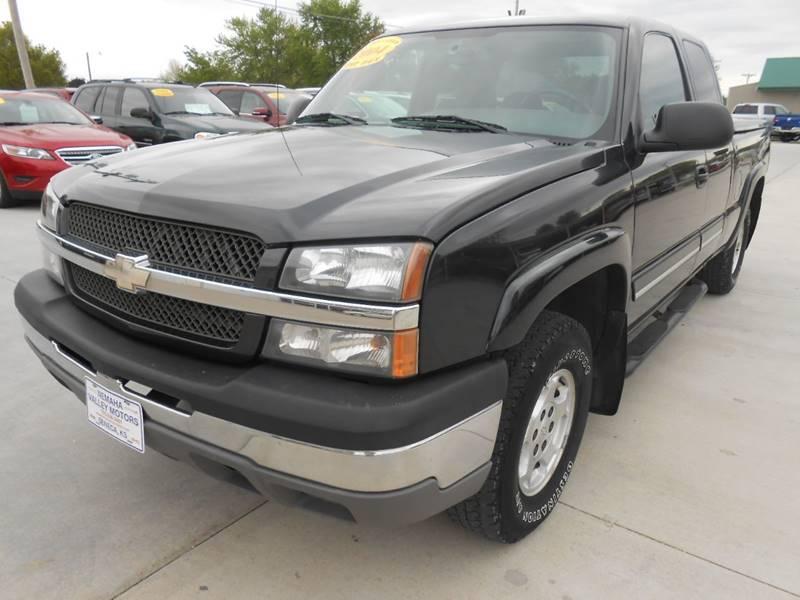 2004 Chevrolet Silverado 1500 for sale at Nemaha Valley Motors in Seneca KS