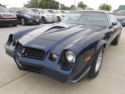 1979 Chevrolet Camaro for sale at Nemaha Valley Motors in Seneca KS