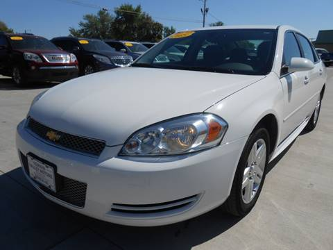 2015 Chevrolet Impala Limited for sale at Nemaha Valley Motors in Seneca KS