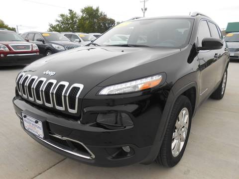 2017 Jeep Cherokee for sale at Nemaha Valley Motors in Seneca KS