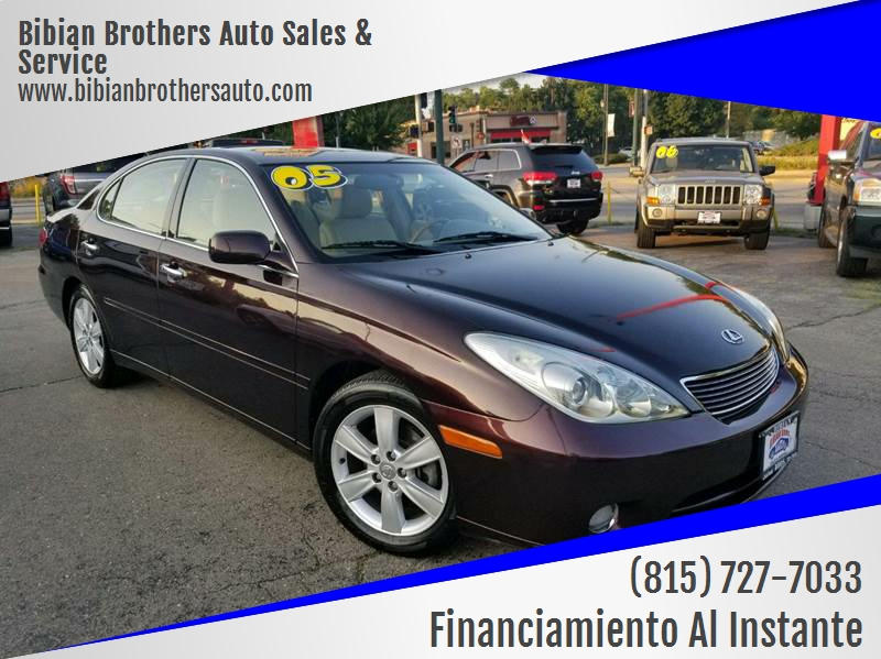 2005 Lexus ES 330 for sale at Bibian Brothers Auto Sales & Service in Joliet IL