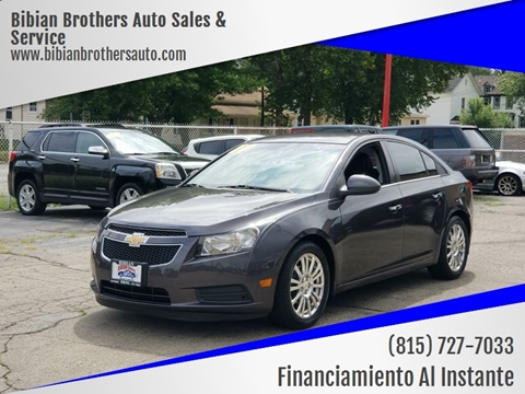 2011 Chevrolet Cruze for sale at Bibian Brothers Auto Sales & Service in Joliet IL