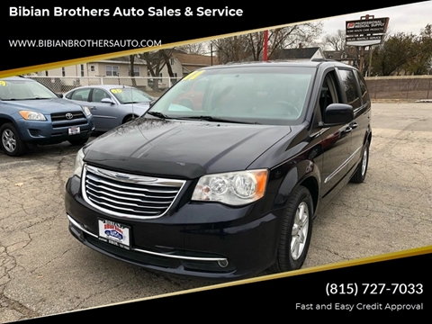 2011 Chrysler Town and Country for sale at Bibian Brothers Auto Sales & Service in Joliet IL
