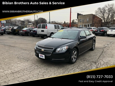 2008 Chevrolet Malibu for sale at Bibian Brothers Auto Sales & Service in Joliet IL