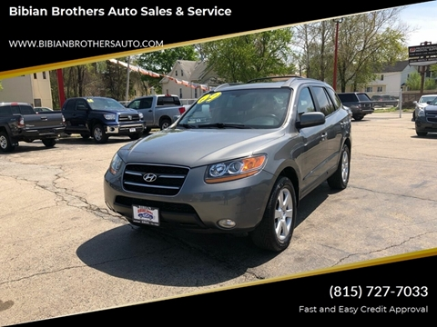 2009 Hyundai Santa Fe for sale at Bibian Brothers Auto Sales & Service in Joliet IL