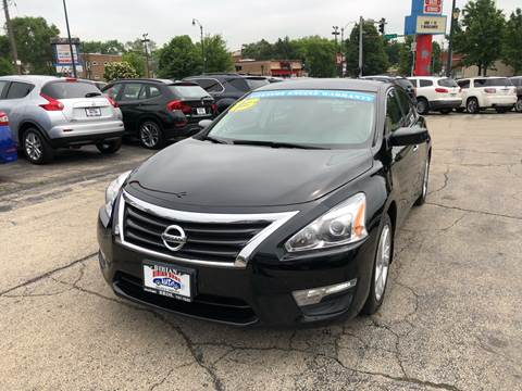 2013 Nissan Altima for sale at Bibian Brothers Auto Sales & Service in Joliet IL