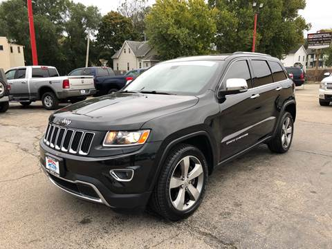 2014 Jeep Grand Cherokee for sale at Bibian Brothers Auto Sales & Service in Joliet IL